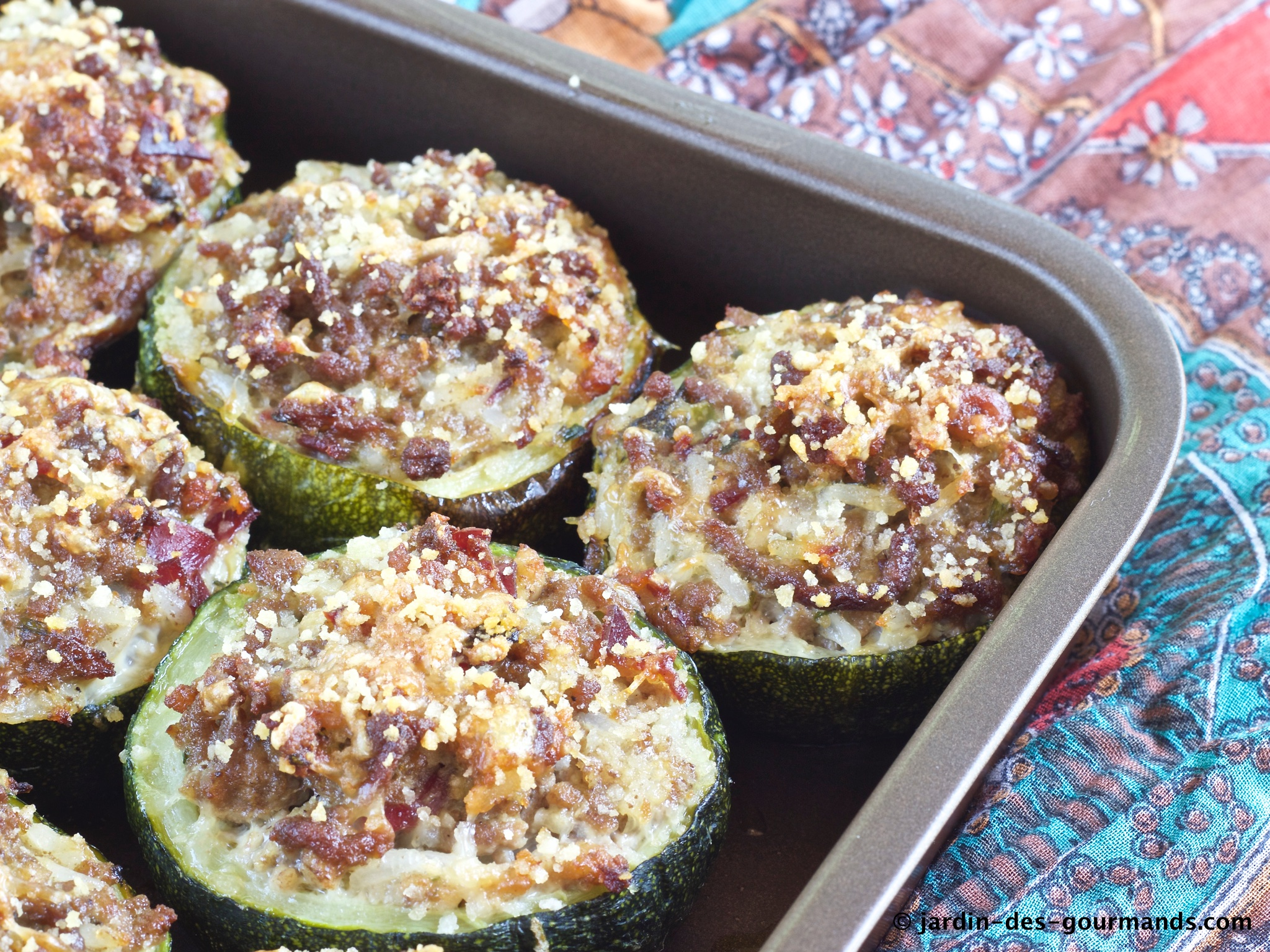 COURGETTES FARCIES 2
