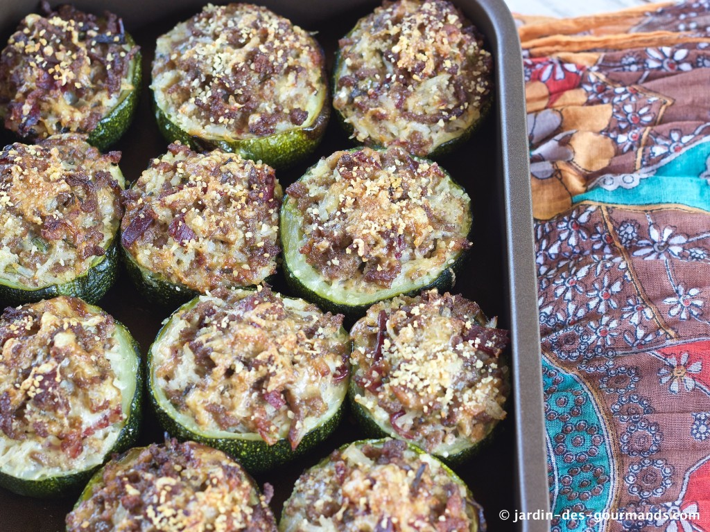 COURGETTES FARCIES 4
