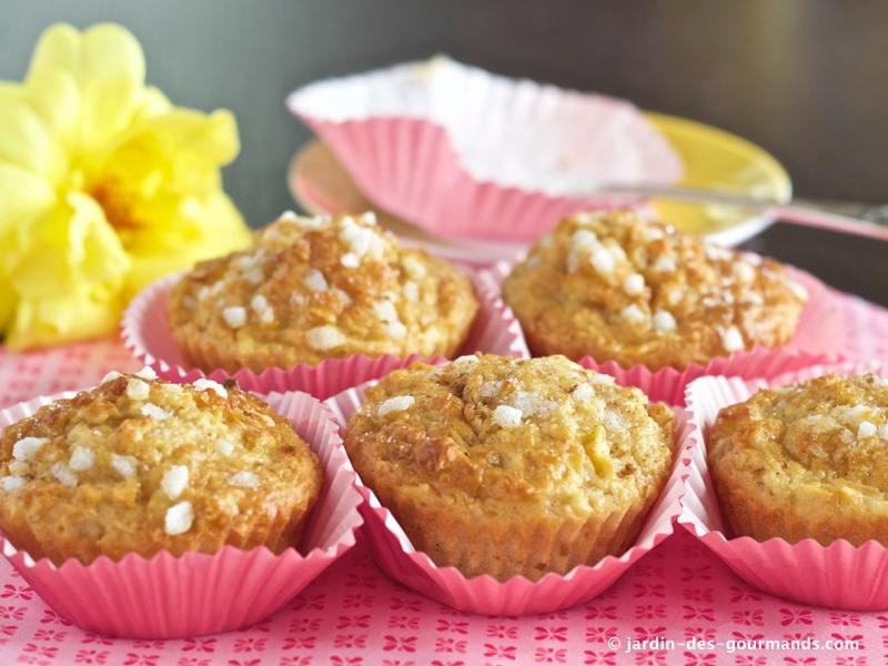 muffins pomme canelle 6