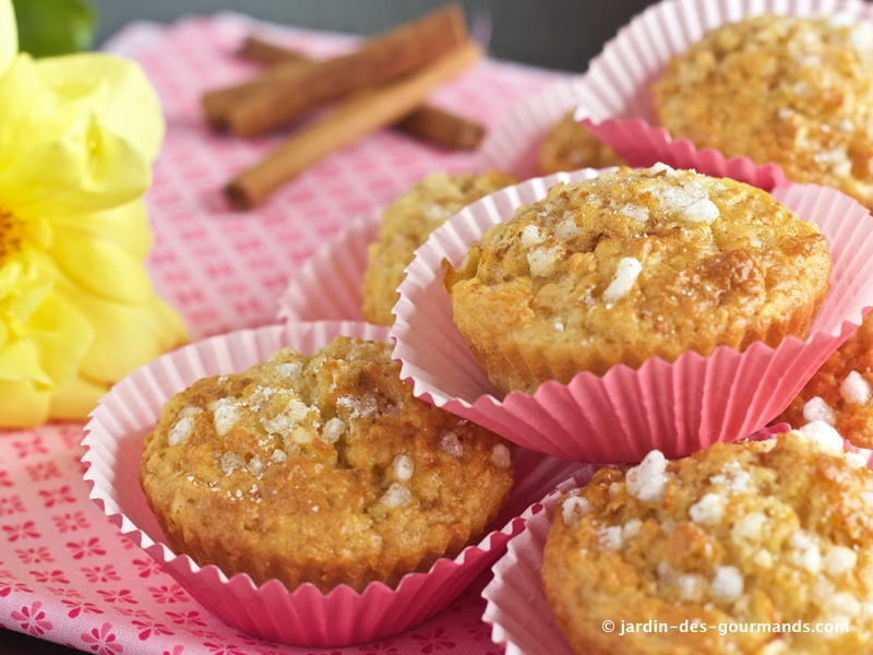 muffins pomme canelle