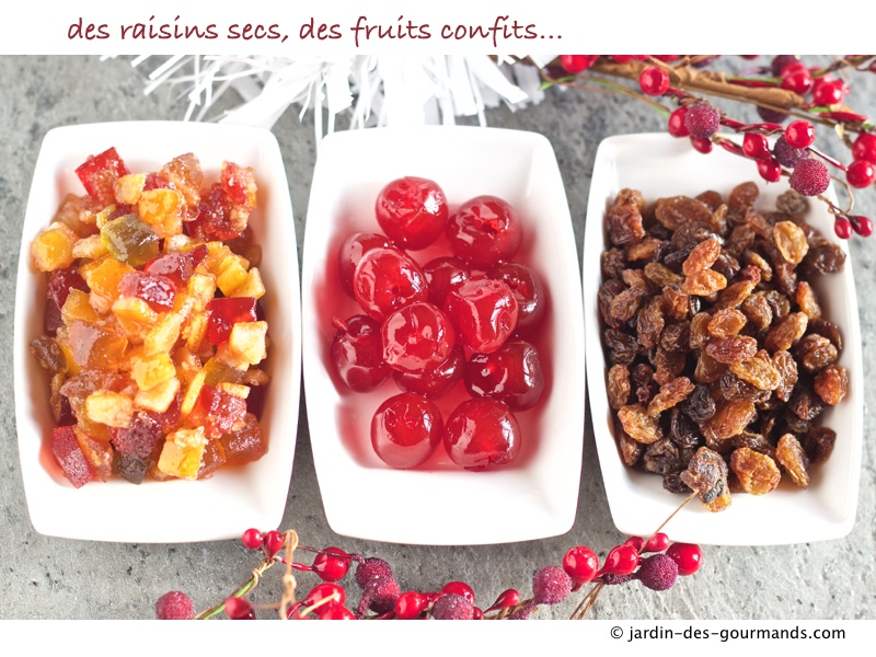 Pudding aux fruits confits JDG 7