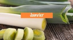 Les produits de JANVIER