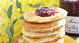 Pancakes à la vanille
