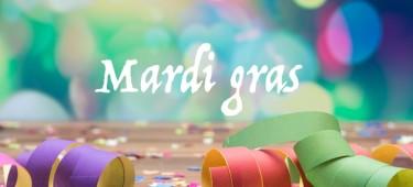 Idées recettes : Mardi gras, Carvanal