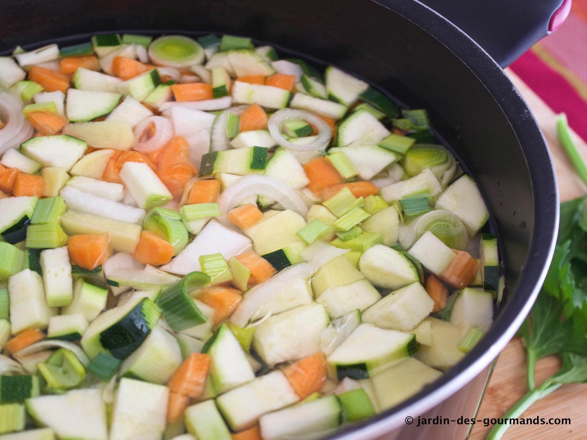 Legumes A Mettre Dans Le Jardin ma soupe de légumes - jardin des gourmandsjardin des gourmands
