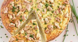 Gâteau de Chou-fleur au fromage blanc